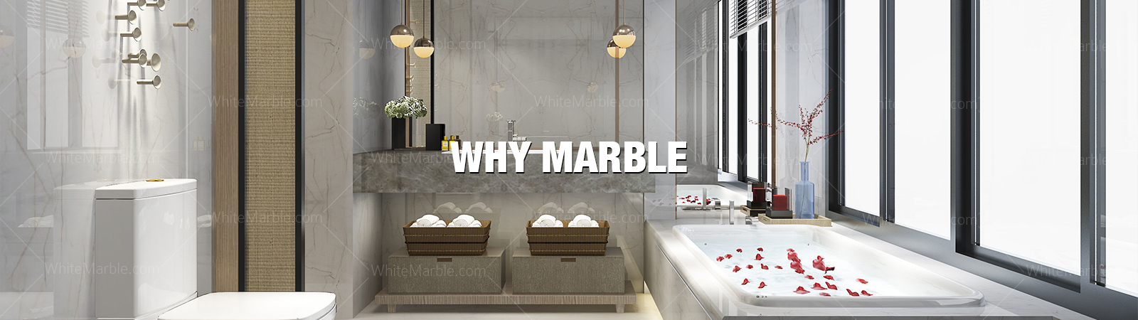 Why Marble | White Marble | Calacatta Marble | Crystal Snow