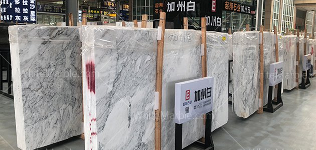 Sunny White Marble