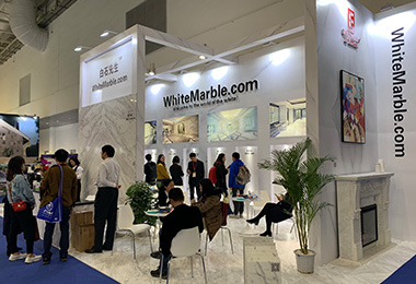 Exhibition | Panda Marble | Sivec Marble | Volakas Marble